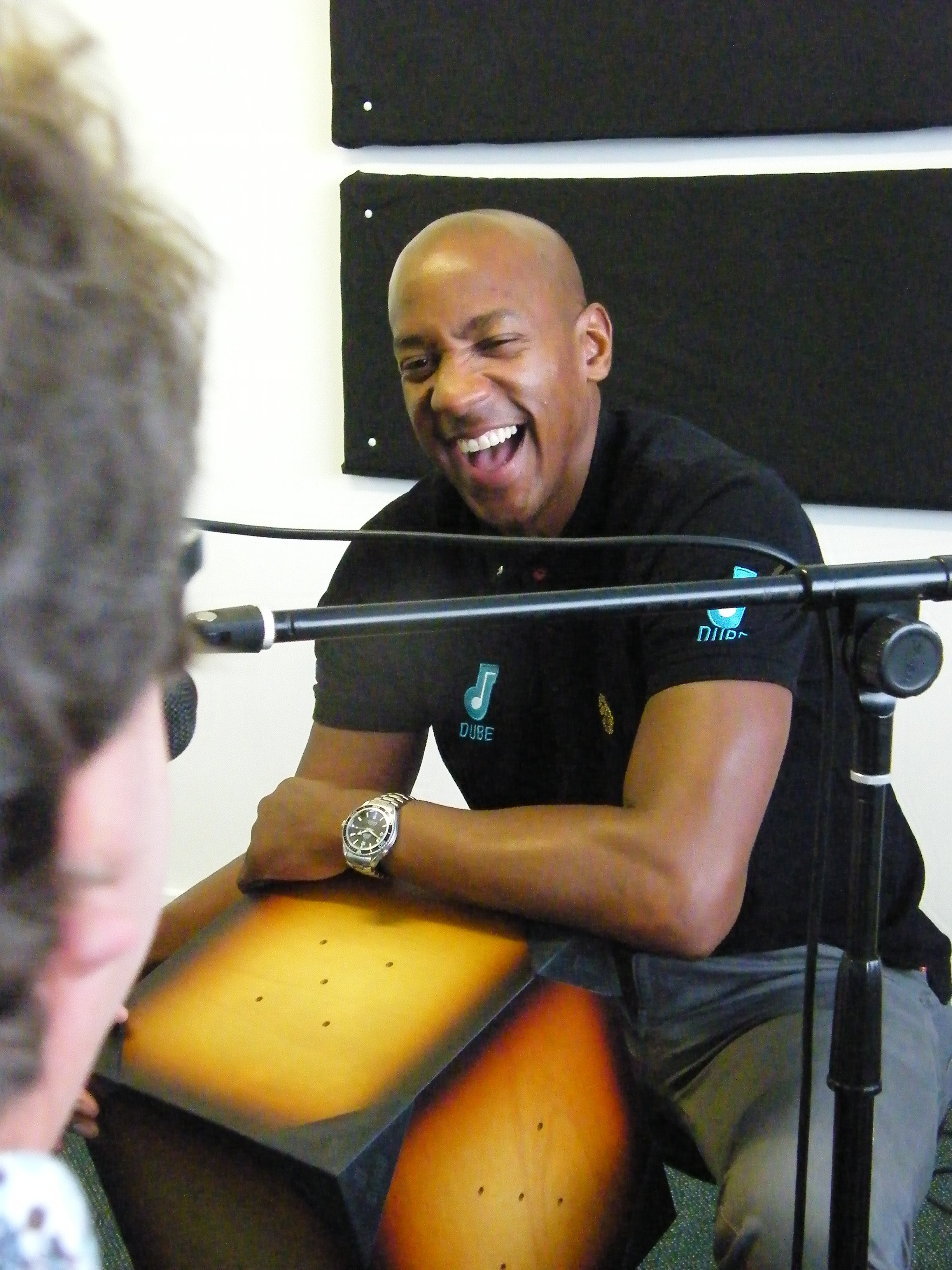 International Footballer, TV Presenter and Percussion Instrument Inventor! It's Dion Dublin on the Global Drum Network podcast Episode 3!!