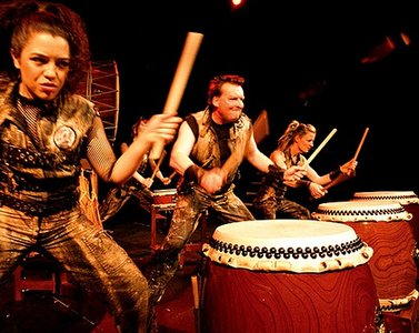 The monstrously magnificent MUGENKYO TAIKO DRUMMERS - Global Drum Network Episode 5