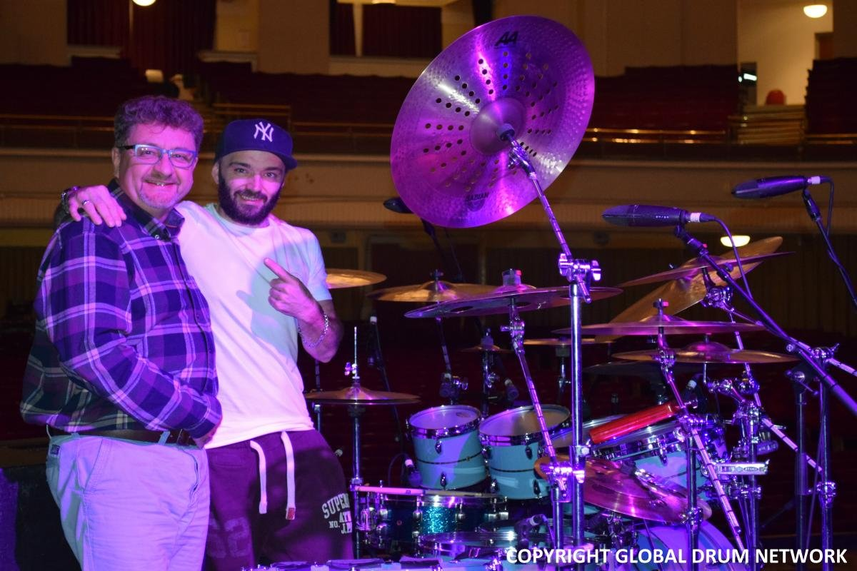 Level 42's PETE RAY BIGGIN with Bob from the Global Drum Network podcast